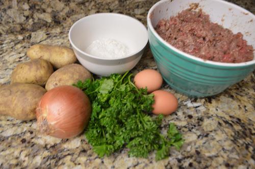 طريقة البطاطا المبطنة الليبية
